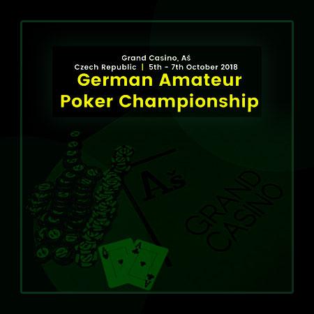 German Amateur Poker Championship начнется 5 октября